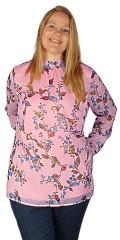 Zhenzi - Hofman chiffon flowery blouse