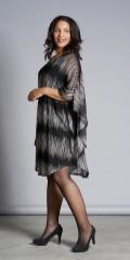Studio Clothing - Dress in chiffon with smart print
