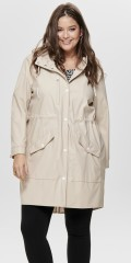 ONLY Carmakoma - Raincoat with cap