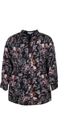 Zhenzi - Shirt blouse in flowers print