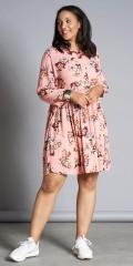 Studio Clothing - Blumengemustert knielang Kleid