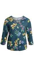 CISO - Shirt with floral print