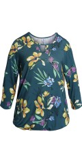 CISO - Blouse with floral print