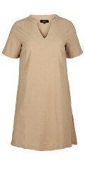 Zizzi - Dress with v cutting