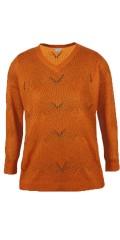 Zhenzi - Pullover l/s-acrylisch/wolle