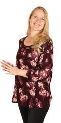 Gozzip - Plum blouse