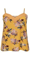 ONLY Carmakoma - Singlet flowery top