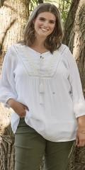 Zhenzi - Leya blouse in crepe viskose