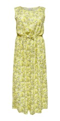 ONLY Carmakoma - Yellow maxi dress