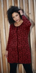 Cool dress in red animal