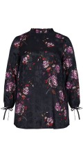 Adia Fashion - Blouse with flowers