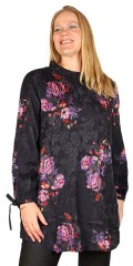 Adia Fashion - Bluse med blomster