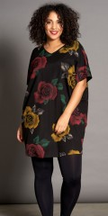 Studio Clothing - Oversize flowery tunica dress