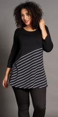 Studio Clothing - Tunika mit diagonale streifen