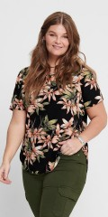 ONLY Carmakoma - Curvy flowery top