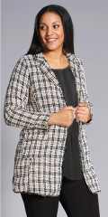 Studio Clothing - Long chequered jacket