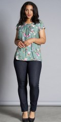 Studio Clothing - Top med blomsterprint