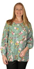 Studio Clothing - Bluse med blomsterprint