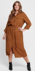ONLY Carmakoma - Carwanda calf shirt dress