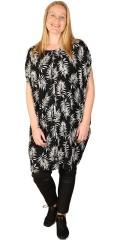 Adia Fashion - Kjole med palmeprint