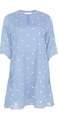Cassiopeia - Nina klänning, söt bomull flæsekjole med bomber