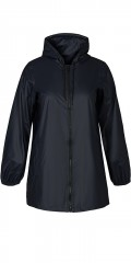 Zizzi - Rain jacket dark blue
