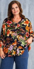 Gozzip - Blomstret skjorte
