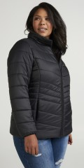 Zizzi - Quilted quilt jacket