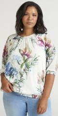 Zizzi - Flowery blouse
