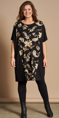 Gozzip - Oversize tunica in floral print