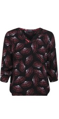 Choise - Gedruckt Bluse