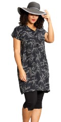 Studio Clothing - Shirt dress with leaves design