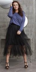 Zhenzi - Firework tyl kjol