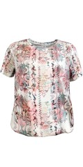 Cassiopeia - Bene blouse with graphic print