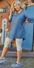 CISO - Sofia capri bukser i blomsterprint