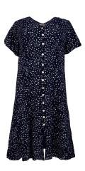 Cassiopeia - Sif klänning, tryckta skjortklänning