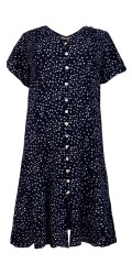 Cassiopeia - Sif dress, printed shirt dress