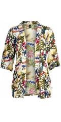 Adia Fashion - Blomstret kimono