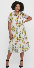 ONLY Carmakoma - Flowery dress