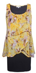 Zhenzi - Dole dress with floral print