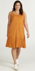 Zizzi - Kleid mit Volant
