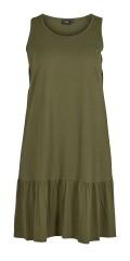 Zizzi - Dress with flounce