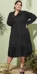 Zhenzi - Eden chiffon klänning