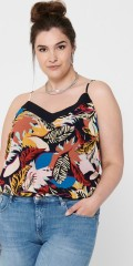 ONLY Carmakoma - Singlet top in multi-print