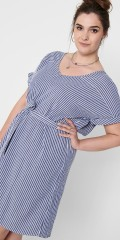 ONLY Carmakoma - Carisa stripe dress