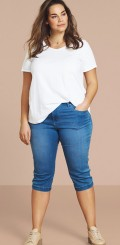 Zizzi - Emily capri jeans