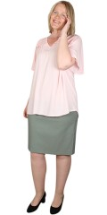 Robell - Christy skirt with rubber band in the waist
