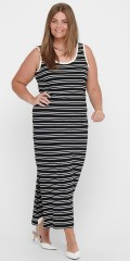 ONLY Carmakoma - Striped summer dress