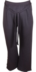 Mik 7/8 loose pants with tie string