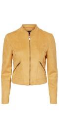 Vero Moda Curve - Summersiv faux suede liten jakke